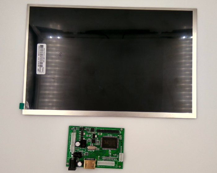 Display with drive board